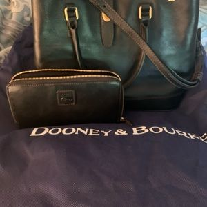 Dooney and Bourke Satchel and matching wallet